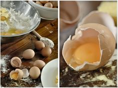 Eggs and mixing bowl by Penelope Beveridge | http://www.penelopephotography.com/