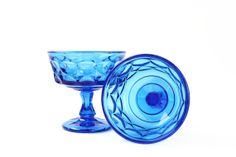 Noritake PERSPECTIVE Champagne Coupes Blue by OldVintageGoodies, $18.00