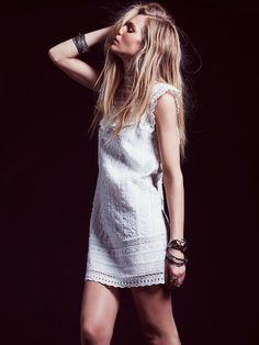 Free People Victorias High Neck Shift, $168.00