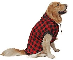 Although dogs are generally well protected against the cold spells, there comes a time when you need to cover them with sweaters. Dog Sweater Pattern, Crochet Dog Sweater, Plaid Pattern, Large Dog Clothes, Pet Clothes, Dog Clothing, Winter Outfits, Winter Clothes, Dog Pajamas