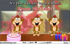 Singing birthday cards for facebook birthday songs cards free free online three wise monkeys ecards on birthday bookmarktalkfo Gallery