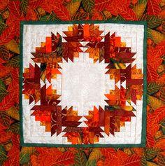 Scrapbox Quilts: Scraphappy Saturday - Orange 3 - Reminds me of Door County