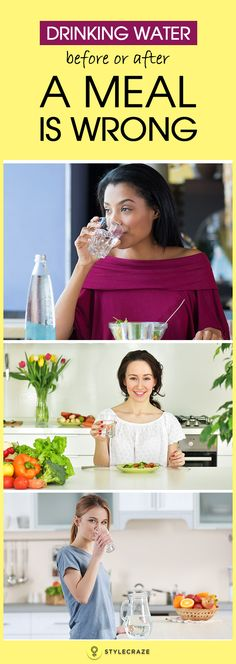 You might have come across this question quite often. In fact, this is a very common doubt that most people have. A few doctors suggest that you must not drink water during your meals. Instead, you should wait for an hour or so, and then drink water. A few others suggest not to drink water before eating food. With so many suggestions and advice, which one should we follow? When exactly must we drink water?