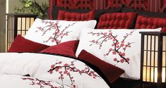 Japanese Cherry Blossom Bedroom Decoration