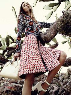 Audrey Nurit for L'Officiel Paris - Louis Vuitton