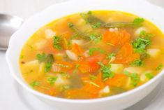 Kartoffelsuppe mit Gemüse – basisch Recipe for a basic potato soup with vegetables. Sopa Detox, Detox Soup, Healthy Food Recipes, Yummy Food, Diet Recipes, Vegetable Soup Recipes, Vegetable Soup Recipe Without Tomatoes, Potato Soup, Main Meals