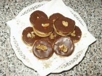 IŠELSKÉ DORTÍČKY Christmas Cookies, Muffin, Baking, Breakfast, Glass, Sweet, Recipes, Food, Xmas Cookies