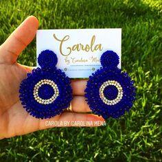 Diy Macrame Earrings, Funky Earrings, Beaded Earrings, Crochet Earrings, Handmade Beaded Jewelry, Earrings Handmade, Valentines Balloons, Crochet Handbags, Beaded Brooch