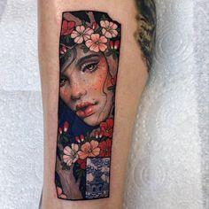 tattoo works by © Hannah Flowers #tattoo #tattoos #tattooartist #tattooart #tattooworks #tattooed #tattooink #tattooing #tattoolife #tattooer #tattoolife #worldtattoogallery #tattoogallery #inkedmag #colortattoo #neotraditionaltattoo #tattoomag #inked