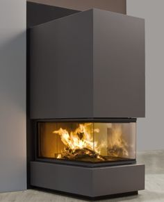 3 sided gas fireplace - Google Search
