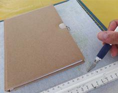 Creatief met papier; ontwerp je eigen #dagboek! #knutselen #decoupage