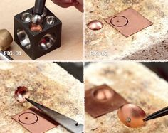 6 Tips for Micro Torch Soldering and Other Jewelry Making from Kate Richbourg - new season bijouterie Soldering Jewelry, Jewelry Tools, Copper Jewelry, Wire Jewelry, Jewelry Crafts, Handmade Jewelry, Jewelry Design, Copper Rings, Earrings Handmade