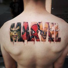 Wunder Tattoo von Shortys Tattoo Speicher - New Tattoos - Tattoos Hulk Tattoo, Deadpool Tattoo, Avengers Tattoo, Tattoo Son, Comic Tattoo, Wolverine Tattoo, Fan Tattoo, Deadpool Wolverine, Ironman Tattoo