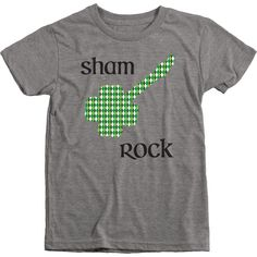 Your little Sham Rocker will be celebrating St. Patricks Day in style with this super cute tee! All clothing that we use is made in Worldwide Responsible Accredited Production (WRAP) certified facilit