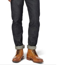 Grenson Sharp boots with jeans.