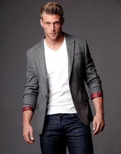 Como Usar Blazer Com Camiseta em Looks Masculinos - Canal Masculino