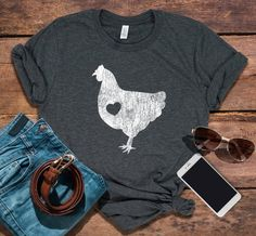 699ad8f34a89b5 23 Best chicken shirt images
