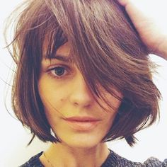 The classic textured sexy bob. Yes please. @Salvagesalon
