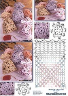 Marvelous Crochet A Shell Stitch Purse Bag Ideas. Wonderful Crochet A Shell Stitch Purse Bag Ideas. Crochet Sachet, Crochet Pouch, Crochet Chart, Crochet Gifts, Crochet Bags, Mode Crochet, Crochet Shell Stitch, Crochet Home, Crochet Stitches
