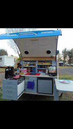 Riptide Campers- Breeze Teardrop Camper trailer kitchen