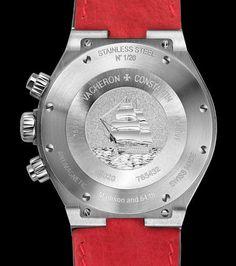 Vacheron Constantin Overseas Chronograph Perpetual Calendar Boutique New York. This is Vacheron Constantin's first high complication in a steel Overseas case.