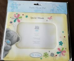 Me to You Special Friends Photo Mouse Mat - Tatty Teddy Gift Ideal for Christmas Special Friends, Tatty Teddy, Brand Me, Friend Photos, Main Colors, Picture Frames, Christmas, Pictures, Gifts