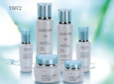 YX072  creative design bottles and jars for skincare lotion and cream