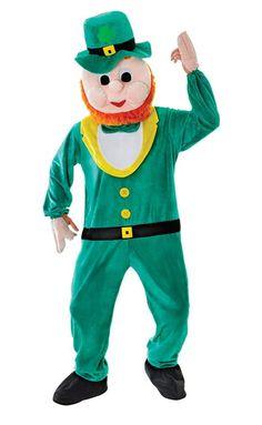 Leprechaun irish Mascot Costume St Patrick  s Day Novelty Fancy Dress - The  Dragons 76d9edceeb8b
