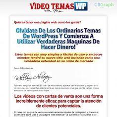 [GET] Download Video Temas Wordpress Con Carta De Ventas! Bonus! : http://inoii.com/go.php?target=vtmwp