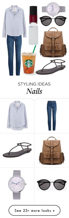 """""""39"""" by annisahapsariw on Polyvore featuring Alexander McQueen, Frank & Eileen, René Caovilla, Yves Saint Laurent, NARS Cosmetics, Kate Spade and StreetStyle"""