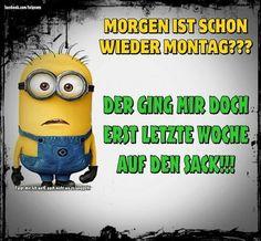 Wochenende Lustig Minions #Wochenende #WochenendeLustigMinions - gbpics - - #gutewitze