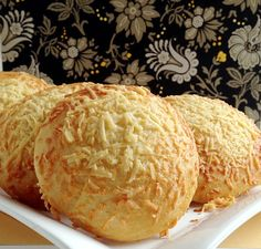 Nothing like homemade bread! Asiago Cheese Rolls -