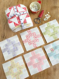 Carried Away Quilting: October Country Road blocks: Patchwork Quilt Along with Fat Quarter Shop