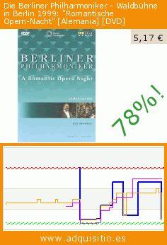 """Die Berliner Philharmoniker - Waldbühne in Berlin 1999: """"Romantische Opern-Nacht"""" [Alemania] [DVD] (DVD). Baja 78%! Precio actual 5,17 €, el precio anterior fue de 23,20 €. https://www.adquisitio.es/membran-international/waldbuhne-berlin-1999"""