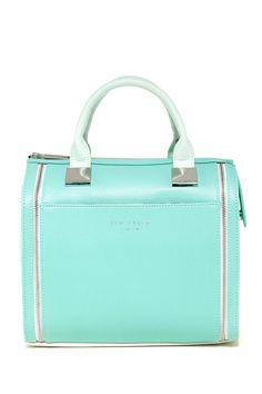 Minty Fresh Naro Crosshatch Handbag (Ted Baker)