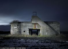 Type 669 Heenschemolen Bunker, Heensche Molen, Netherlands: The photographer said he started his collection over bunker photos because he 'found the geometry and shape of the structures fascinating