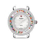 Michele Cloette Carnival Diamond Dial Watch Head, 38mm