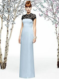 This with ivory lace? Lela Rose Style LX196 http://www.dessy.com/dresses/bridesmaid/lx196/
