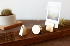 experiment with some options to hold square prints.