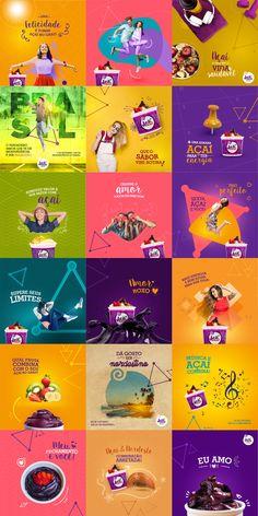 Social Media Açaí no Grau Elektroniken Açaí Grau Media social Social Media Branding, Social Media Bar, Social Media Content, Social Media Graphics, Social Media Marketing, Social Media Posts, Instagram Design, Instagram Grid, Design Poster