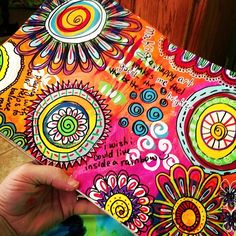 Art Journal Page - January 19, 2014 (with images) · allmixedupart