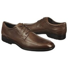 Rockport Business Lite MocToe Shoes (Medium Brown) - Men's Shoes - 8.5 M