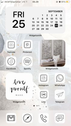 Iphone Home Screen Layout, Iphone App Layout, Iphone App Design, Iphone Wallpaper Vsco, Iphone Wallpaper Tumblr Aesthetic, Iphone Background Wallpaper, Organize Phone Apps, Iphone Life Hacks, Phone Themes