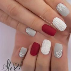 52 Trending winter nail colors & design ideas, winter nail art designs, winter n. - - 52 Trending winter nail colors & design ideas, winter nail art designs, winter n… – - # Cute Christmas Nails, Xmas Nails, Holiday Nails, Christmas Holiday, Christams Nails, Christmas Manicure, Halloween Nails, Christmas Nail Polish, Christmas Nails Colors
