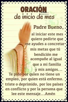 Catholic Prayer For Healing, Catholic Prayers In Spanish, Spiritual Prayers, Prayers For Healing, Faith Prayer, God Prayer, Prayer Quotes, Faith In God, Cura Interior