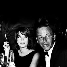 """stardustmelody: """"Natalie Wood and Frank Sinatra, 1966 """""""
