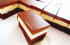 Monte řezy po domácku Cake Bars, Dessert Bars, Maxi King, Czech Desserts, Sweet Recipes, Cake Recipes, Torta Recipe, Kolaci I Torte, Czech Recipes