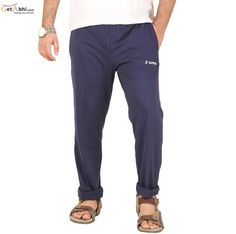 http://tinyurl.com/lvlhpxj Now feel comfortable all the time by slipping into these Blue #Hosiery #Lower for men from Sapper. Made from cotton, Team them with a favourite T-shirt of yours for a cool and fashionable look.