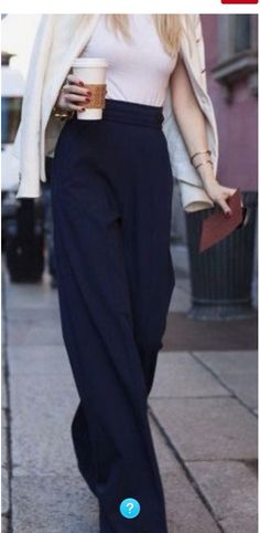 Obsessed with wide leg pants
