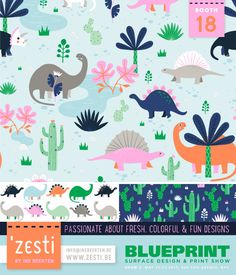 Zesti – Ine Beerten |   Blueprint 2: 21-23 May NYC Flow Design, Print Design, May Designs, Cool Designs, Blueprint 2, Pretty Patterns, Surface Pattern Design, New York, Trade Show